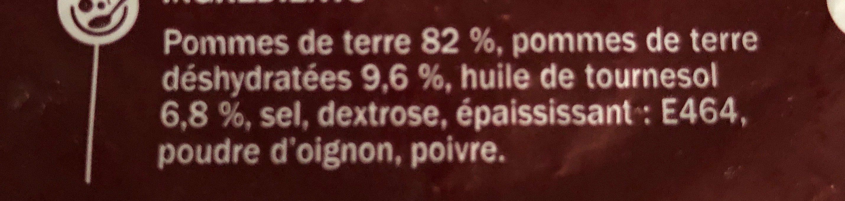 Pommes de terre noisettes - Ingredienti - fr