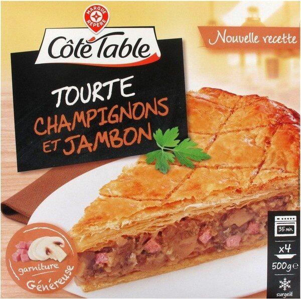 Tourte champignons jambon - Product - fr