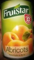 Abricots demi-fruits au sirop boîte 1/2 - Produit - fr