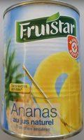 Ananas en tranches entières au jus naturel - Produit - fr