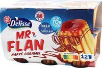 Dessert lacté vanille/caramel - Produit - fr