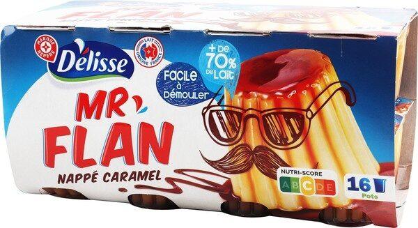 Dessert lacté vanille et caramel - Product