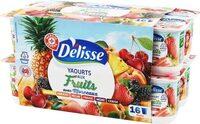 Yaourts aux fruits morceaux - Product - fr