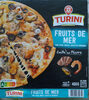 Pizza aux fruits de mer - Produit