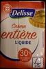 Crème liquide entière (30% M.G) - Product