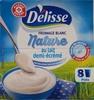 Fromage blanc nature au lait demi-écrémé - Produit