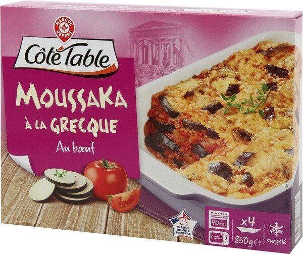 Moussaka à la grecque - Produit - fr