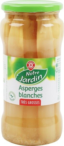 Asperges blanches très grosses - Product - fr