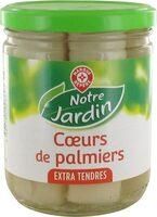 Coeurs de palmier bocal - Produit