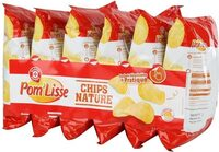 Chips natures sachets - Product