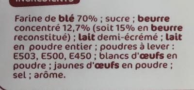 Petits beurres x 24 - Ingredienti - fr