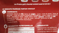 Goûters fourrés au chocolat - Ingrédients - fr