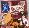 Pirates pocket goût chocolat - Product