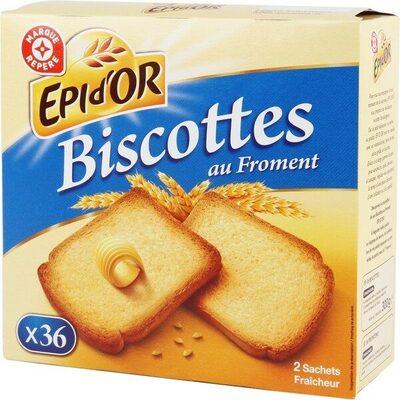 Biscottes x 36 - Prodotto - fr