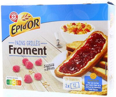 Pains grillés au Froment - Product - fr
