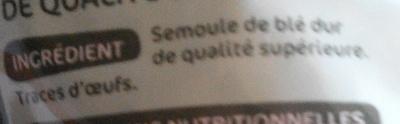 Coquillettes - Ingrediënten