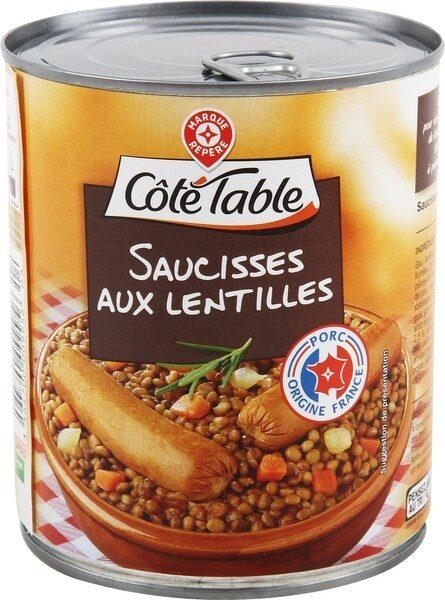 Saucisses lentilles - Product - fr