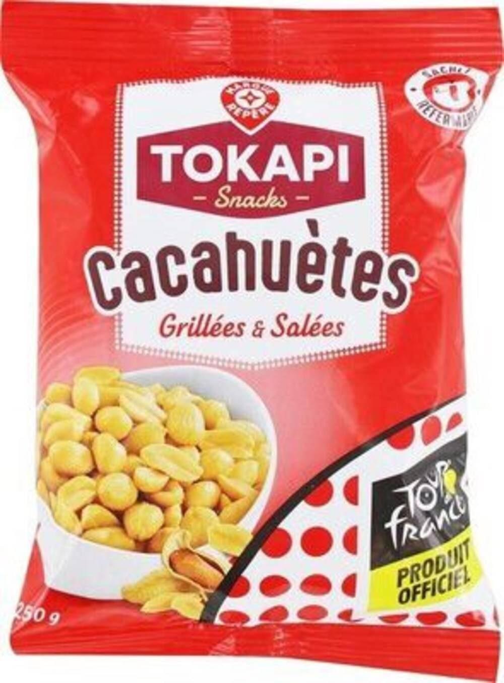 Cacahuètes grillées & salées - Produit - fr
