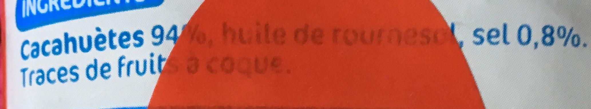 Cacahuètes grillées & salées - Ingrédients - fr