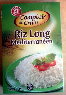 Riz long blanchi méditerraneen - Product