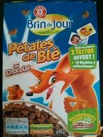 Pétales de blé au chocolat - Produit - fr