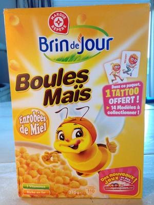 Boules céréales miel - Produit - fr
