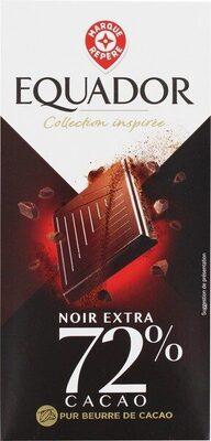 Chocolat noir 72% cacao - Produit - fr