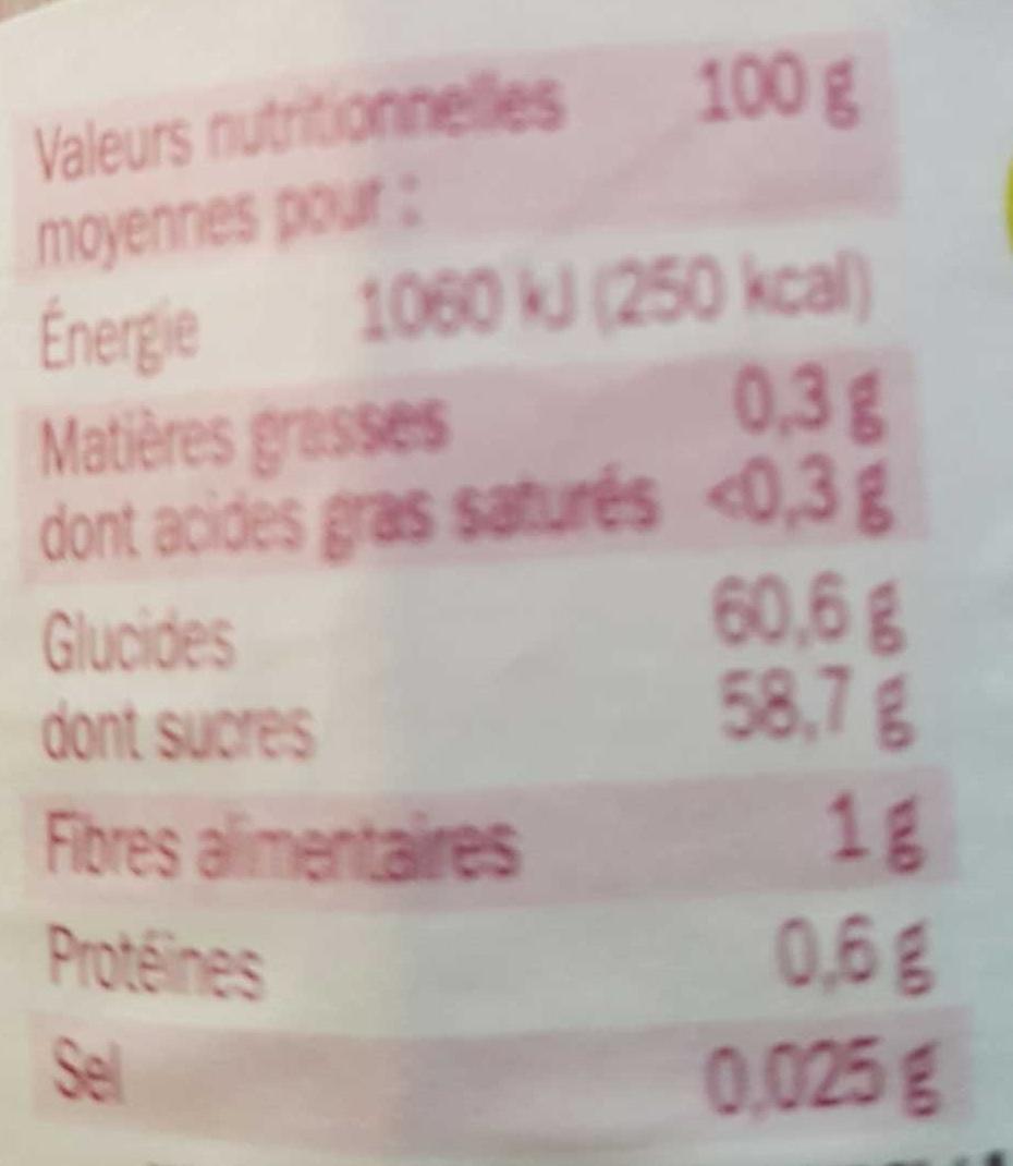 Confiture extra cerise mamie douceur 370g - Acide citrique leclerc ...