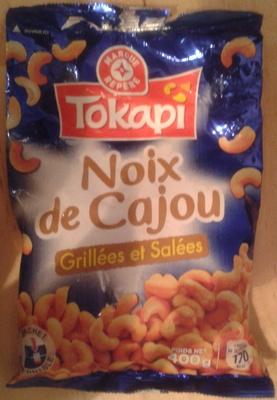 Noix de cajou grill es et sal es tokapi 400 g - Noix de cajou grillees salees ...