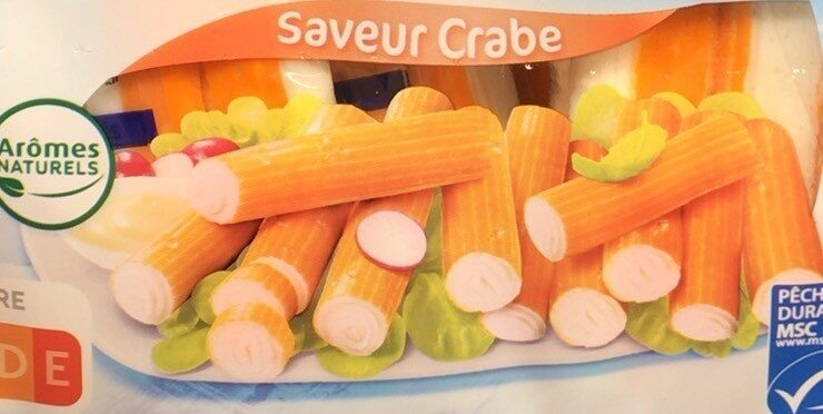 Bâtonnets saveur crabe - Prodotto - fr