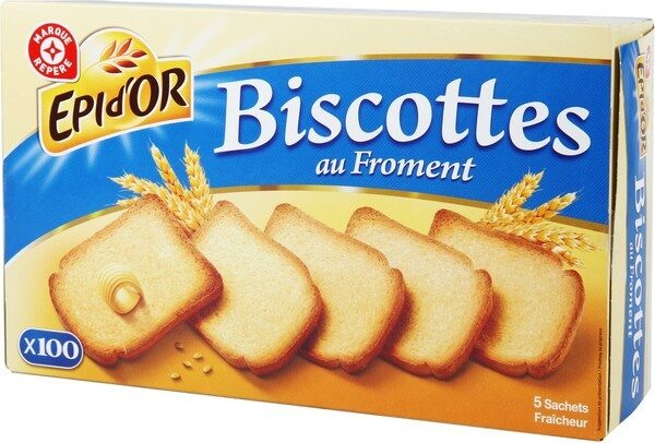 Biscottes x 100 - Product - fr
