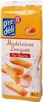 Madeleine longue pur beurre x16 - Produit
