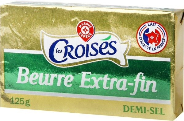 Beurre extra fin demi sel 80% - Product