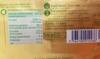 Beurre extra fin demi sel 80% - Voedingswaarden