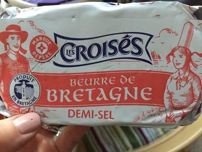 Beurre de Bretagne demi sel - Product - en