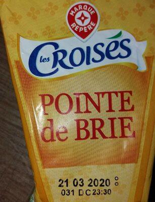 Pointe de brie 31%mg - Produit - fr