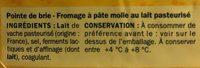 Pointe de brie 31%mg - Ingrédients - fr