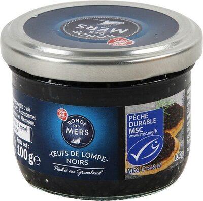 Oeufs de lump noirs - Product
