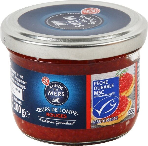 Oeufs de lump rouges - Product - fr