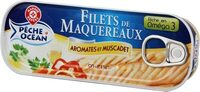 Filets maquereaux aromatisé muscadet - Product - fr