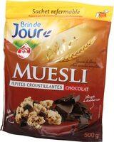 Muesli croustillant chocolat - Produit - fr