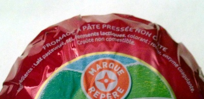 Fromage rond sous cire 28% - Ingredients - fr