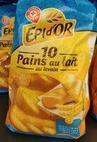 Pains au lait x10 - Produit - fr