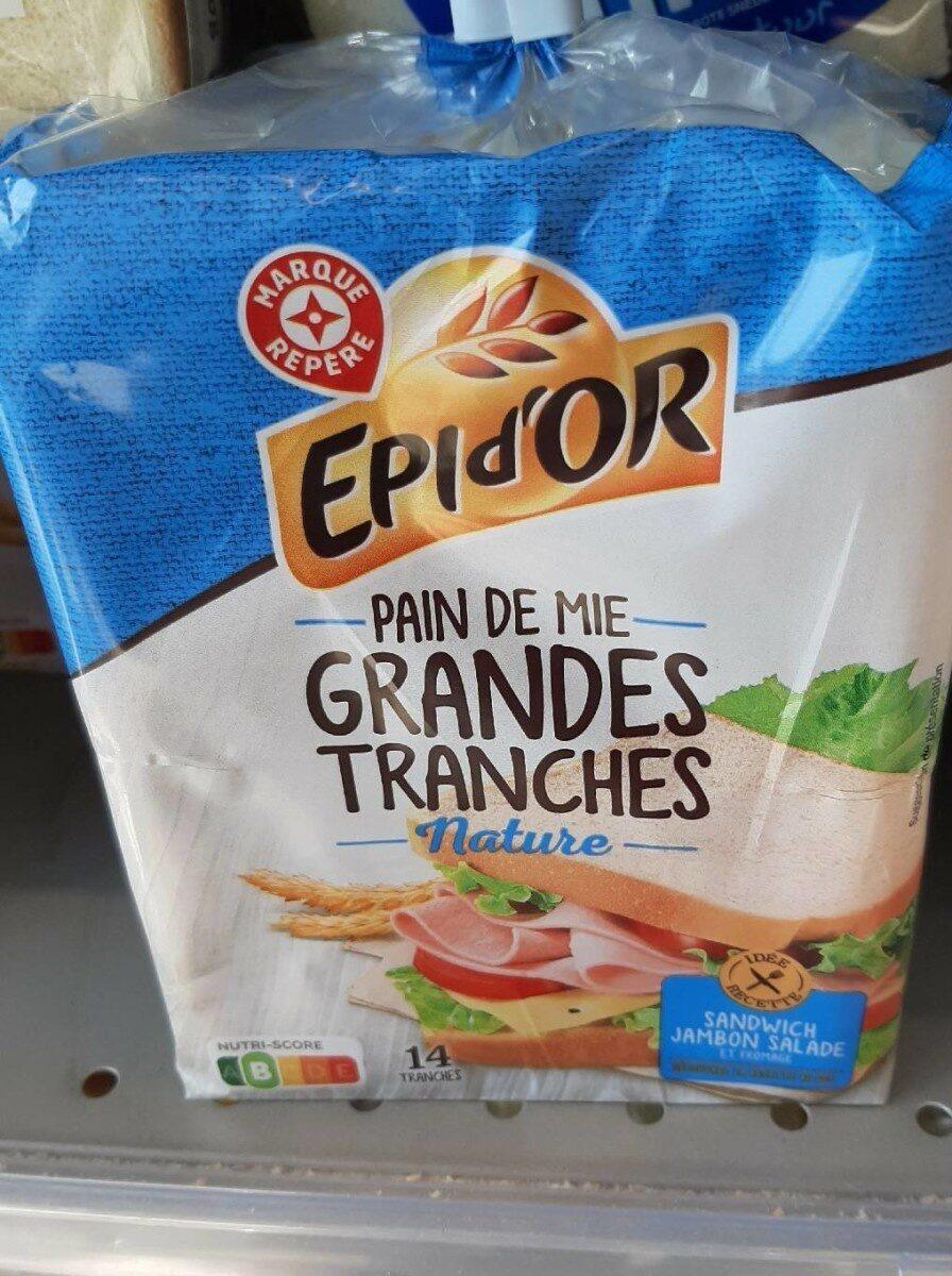 Pain de mie Spécial Sandwich Nature - Produit - fr