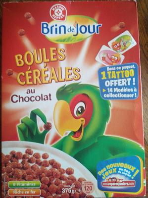 Boules céréales au chocolat - Produit - fr