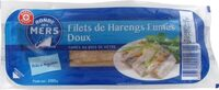 Filets de harengs fumés doux - Product
