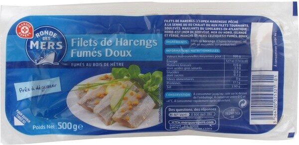 Filets de harengs doux - Product - fr