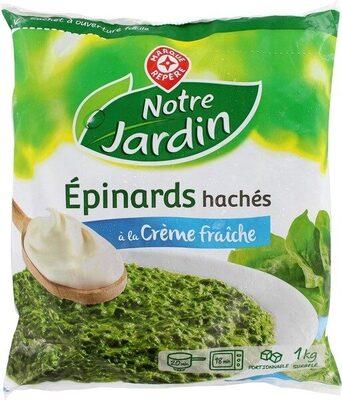 Epinards hachés à la crème - Produit