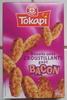 Biscuits salés croustillants goût Bacon - Product