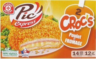 Croc's poulet et fromage - Product - fr